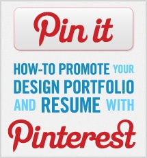 Promote your resume on Pinterest